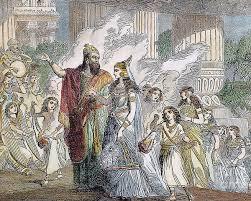 Xerxes I & Esther Poster by Granger