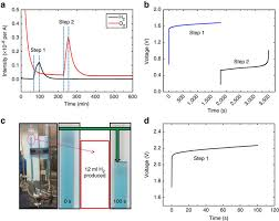 electrochemical mass spectrometry dems curves of the h2 evolution black line and o2 evolution red line in the total water electrolysis process at