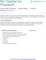 Writing Opinion Essay Lesson Plan