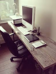 Long Narrow Desk And Top Desks Pinterest Inside ...