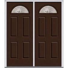 brown front doorBrown  Front Doors  Exterior Doors  The Home Depot