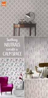 Create a soothing interior with these lovely neutral wallpapers. Perfect  for redecorating your bedroom, living room or hallway. The cool shades lend  ...