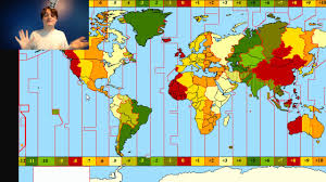 Time Map How The World Map Decides The Time Of Day