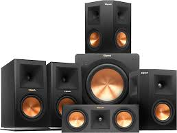 klipsch home speakers. klipsch rp-160 5.1 home theater speaker system (ebony front/center) featuring high-performance reference premiere speakers at crutchfield.com 7