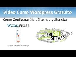 16 tutorial wordpress o configurar xml sitemap y sharebar