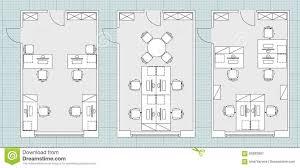 Black White Floor Plan Modern Apartment Stock Vector 595766405 Furniture Icons For Floor Plans