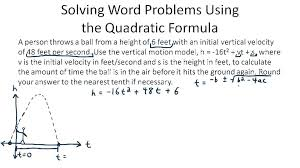 solving quadratic inequalities algebraically