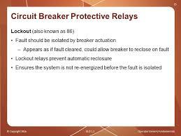 operator generic fundamentals ppt circuit breaker protective relays
