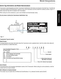 Eaton Fuller Clutch Chart Eaton Fuller Hd Fr Fro Transmissions Trsm2400 En Us Pdf