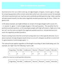 example of questionnaire format scale questions survey and examples copy 7 template word likert