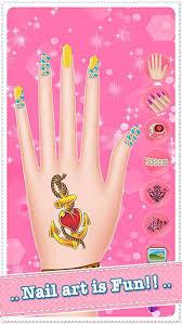 nail salon spa dress up and makeover games play free tattoo makeup s screenshot