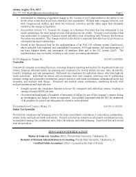 Tax Accountant Resume Accounting Job Resume Sample Accounting Resume ...