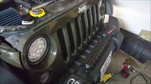 jeep wrangler led light bar wiring wiring diagram user how to install and wire a front light bar on bumper jeep wrangler jk jeep wrangler led light bar wiring