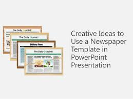newspaper ppt template newspaper template powerpoint presentations