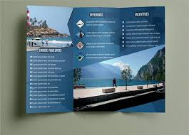 Travel Brochure Template For Students | Best And Professional Templates