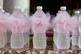 Water Bottles To Decorate to Hosting the Cutest Baby Shower on the Block 10