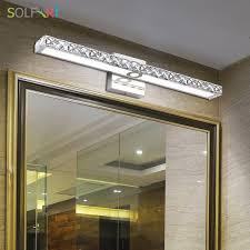 sol l sconce bathroom wall lights led vanity lights makeup cabinet mirror front l light bathroom