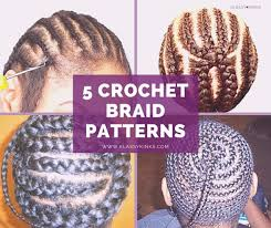 Braid Patterns Classy 48 Of The Best Crochet Braid Patterns BGLH Marketplace