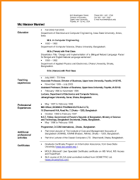 Sample Resume For Computer Teachers Freshers Resume Ixiplay Free