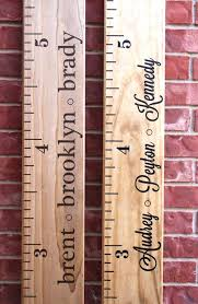 wood personalized growth chart growth chart personalized personalized wooden growth chart canada post