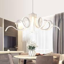 scandinavian design lighting. Scandinavian Style LED Acrylic Chandelier Dining Room Bedroom \u0026 Commercial Places Lighting Decorative Chandeliers AC100- Design