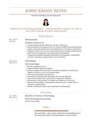 Hr Generalist Resume Samples Visualcv Resume Samples Database