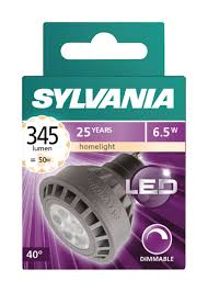 Syl 0026790 Sylvania Led Lamp Gu10 Dimmable Reflector 65 W 345
