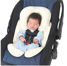 car seat insert snuzzler head and support infant pillow comfortable padding