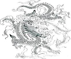 Cool Dragon Coloring Pictures Dragon Coloring Pages For Adults