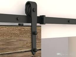 barn door track and hardware 5 modern rustic black arrow wheel sliding barn door hardware interior