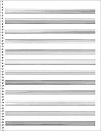 85 Spiral Book 12 Stave Passantino Manuscript Paper