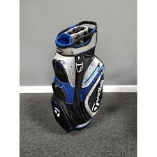 TaylorMade <b>TM17</b> Cart <b>Bag</b> 2.0 Black/Blue | Trolley <b>Bags</b> at JamGolf