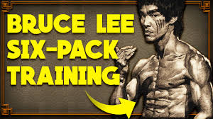 Bruce Lee Practice Chart Bruce Lee Six Pack Training Bruce Lee 6pack Workout
