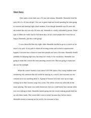 world literature an unexpected day essay an unexpected day we  2 pages world literature short story assignment