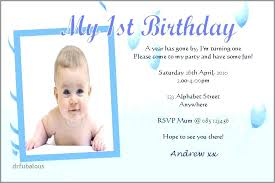 Kids Birthday Invitation Cards Online First Birthday Invitation Card