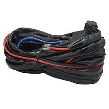 amazon com heavy duty wiring harness, ampper 14 awg waterproof UTV LED Light Bar Wiring Harness heavy duty wiring harness, ampper 14 awg waterproof offroad led light bar wiring kits for