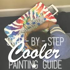 5 step painting guide the cooler nation