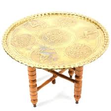 brass and wood coffee table vintage brass and wood coffee table antique brass and wood nailhead