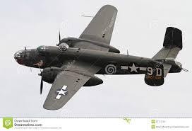 An Ii B B Wereldoorlog Ii B 25 Bommenwerper Mitchell Redactionele Fotografie