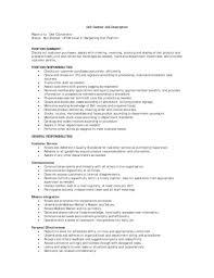 Cashier Job Resume Fast Food Cashier Job Description Resume Resume Examples 100 Fast 81