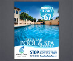 Pool service ad Swimming Pool Pool Services Flyer Promote Regular Pool Services Flyer Design By Brian Ellis Flyer Design Designcrowd Pool Service Flyer Designs 27 Flyers To Browse