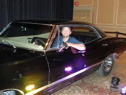 Misha Collins ||| Hunter: 1967 Impala 4 door Hardtop Supernatural ...