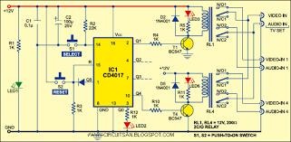 digital audio video input selector super circuit diagram