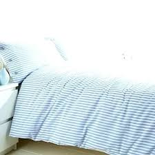 ticking stripe bedding duvet blue striped covers exclusive ideas navy cover set