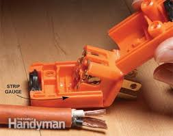 extension cord repair the family handyman photo 2 strip the wires