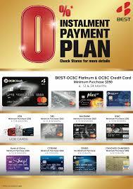Credit Card Payment Plan Best Denki Singapore