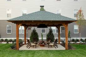 Can You Have A Fire Pit Under Covered Patio How Safe Is It With
