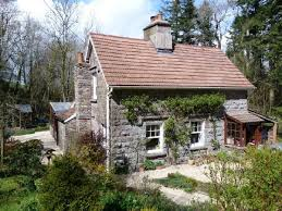 images about Building Ideas on Pinterest   Stables  Floor    Tiny R tic Cottage House Plan   waterfall cottage is a year old stone cottage  in