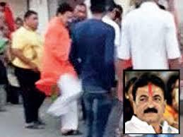 Naroda After Kicking Woman Naroda Bjp Mla Balram Thawani Says He