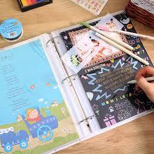 Baby Photo Album Book Usd 86 79 Baby New Birth Record Book Diary Diy Baby